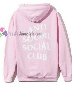 anti social social club gift Hoodies
