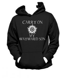 Carry On My Wayward Son Supernatural hoodie gift