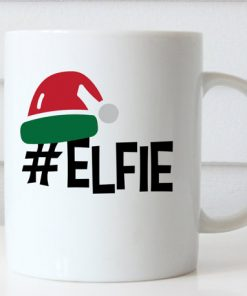 Christmas Coffee Mug Elf Elfie Hashtag mug gift