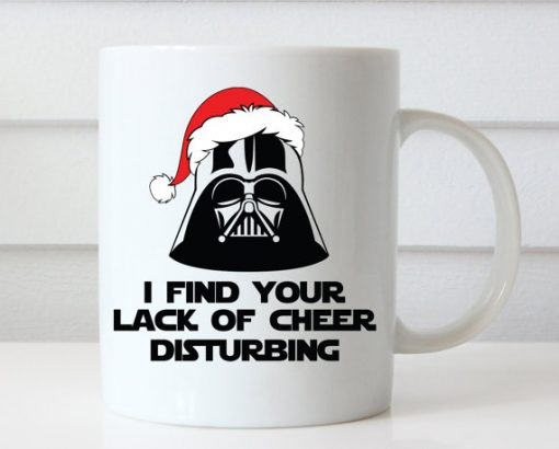 Star Wars Darth Vader Christmas mug gift