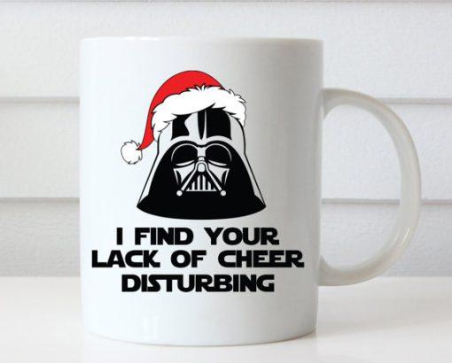 Star Wars Darth Vader Christmas mug gift