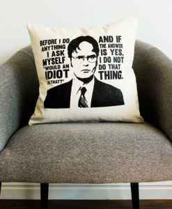 Dwight Schrute pillow case