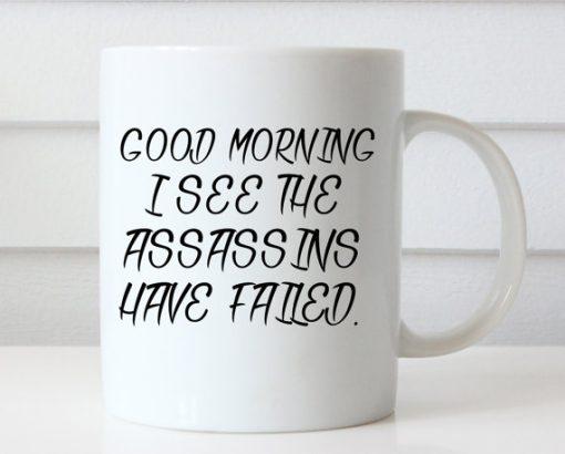 Funny Coffee Good Morning mug