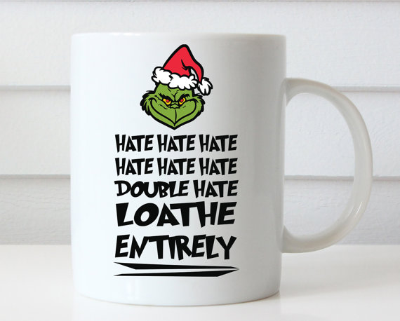Christmas Mugs.Grinch Christmas Mug Gift Custom Mug Ceramic Mugs