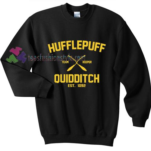 harry potter hufflepuff quidditch sweater hufflepuff