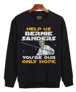 Star Wars Help Us Bernie Sanders Sweater