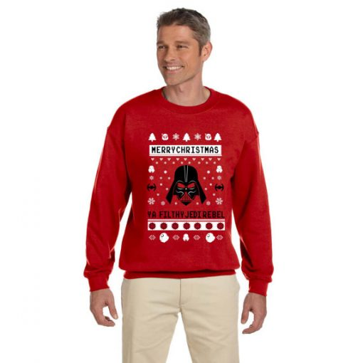 Christmas Star Wars Jedi Rebel Ugly Sweater