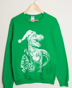 T-Rex Christmas Sweater