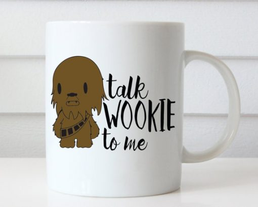 Talk Wookie to Me Star Wars Mug