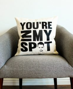 The Big Bang Theory Sheldon Cooper pillow