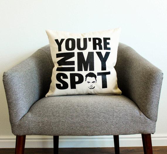 The Bang Theory Sheldon Cooper Pillow