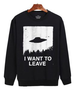 I Want to Leave Sweater