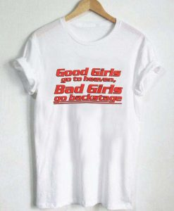 Good Girl Bad Girl White T-Shirt