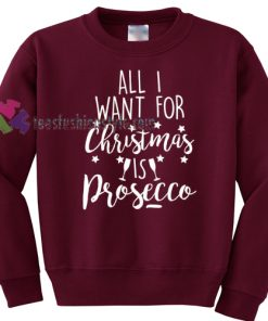 Christmas is Prosecco Sweater gift