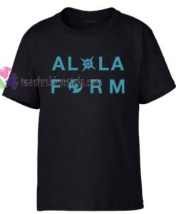 Alola Form Pokemon T-Shirt gift