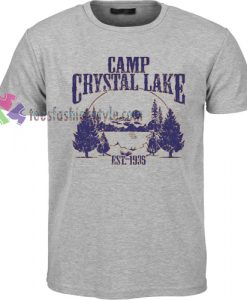 Camp Crystal Lake T-shirt gift