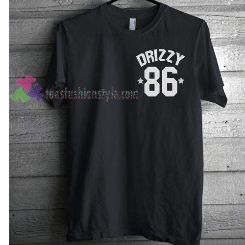 Drizzy 86 Drake T-shirt gift