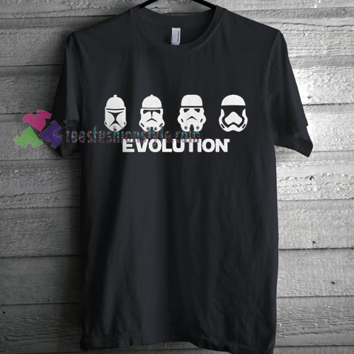 Evolution of the Stormtrooper T-shirt gift