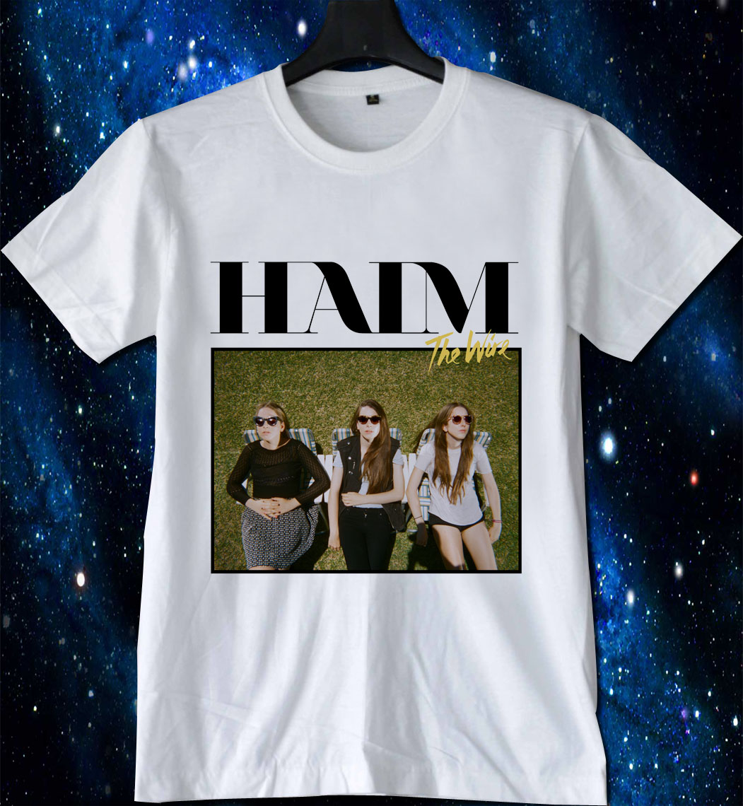 Haim The Wire T Shirt Gift Tees Adult Unisex Custom