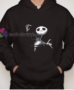 Halloween Ghost Black Hoodie