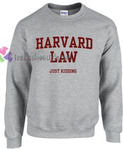 Just Kidding Sweater gift