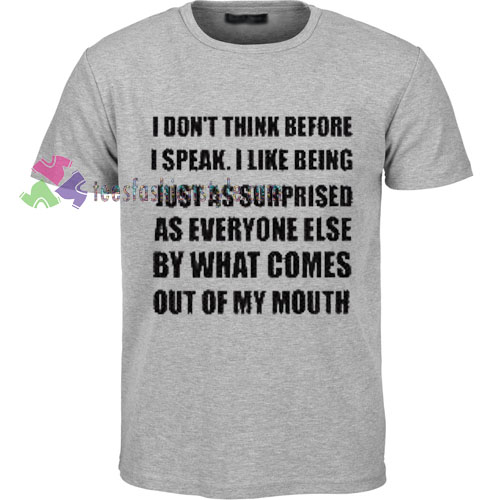 I Speak T-Shirt gift