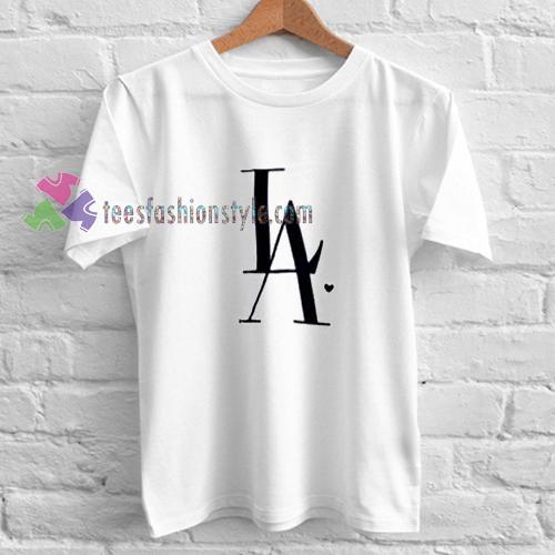LA Logo White T-Shirt