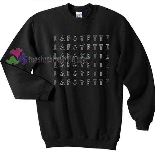 Lafayette Hamilton Sweater gift