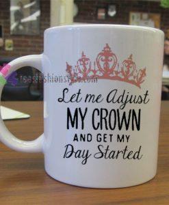 Day Started Mug gift