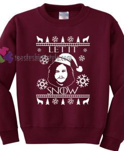 Jon Snow Christmas Sweater gift