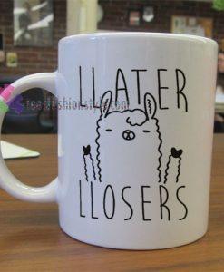 Later Losers Llama Mug gift