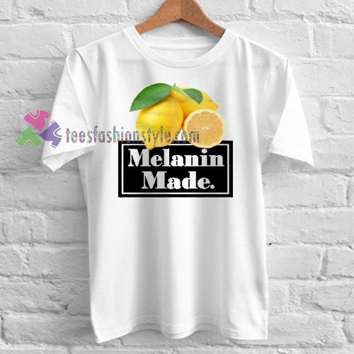 Melanin Made Lemonade T-shirt gift