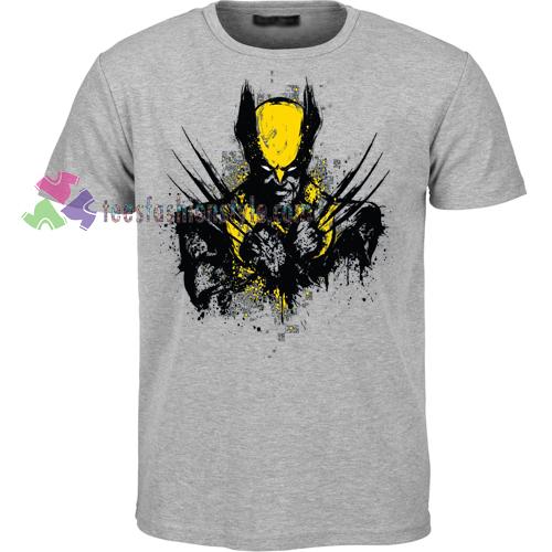 Mutant Rage Wolverine T-shirt gift