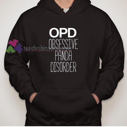 Obsessive Panda Disorder Hoodie gift