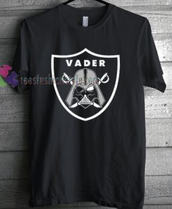 Oakland Raiders Inspired Vader T-shirt gift