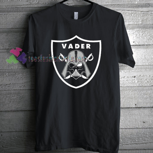 d265ea28 Oakland Raiders Inspired Vader T-shirt gift Tees adult unisex custom ...