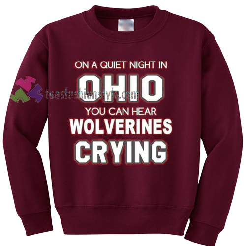 Ohio State Buckeyes Wolverines Sweater gift