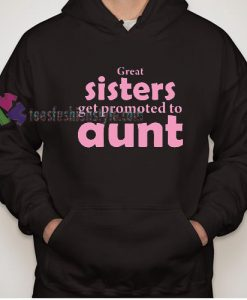 Promoted to Aunt Hoodie gift