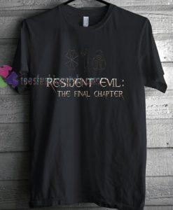 Resident Evil Logo T-shirt gift