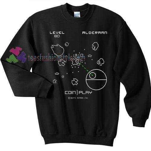Retro Atari Asteroids Sweater gift