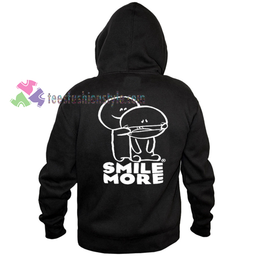 Smile More Hoodie gift