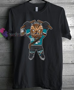 San Jose Sharks Chewbacca x T-shirt gift
