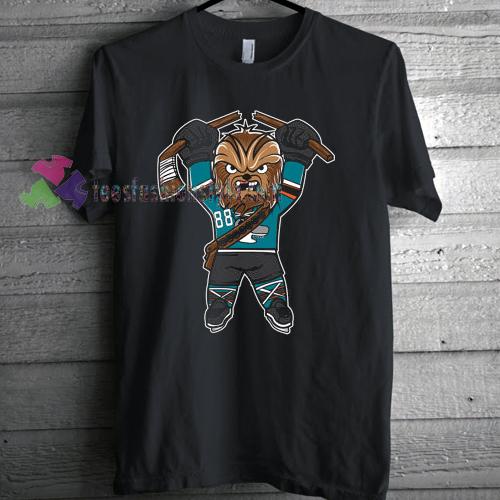 San Jose Sharks Chewbacca x T-shirt gift