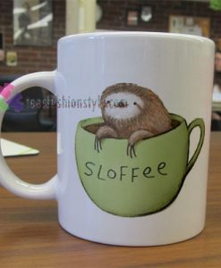 Sloffee Sloth Coffee Mug gift
