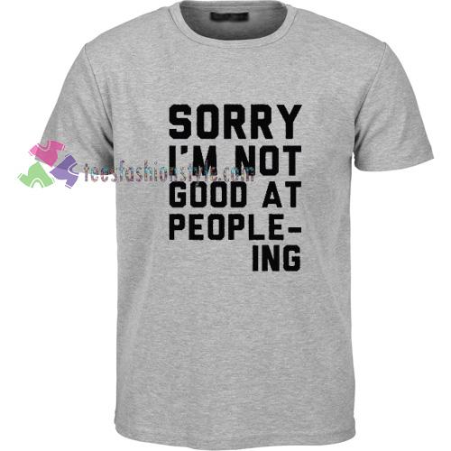 People Ing T-Shirt gift