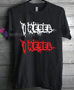 Star Wars I Rebel Distortion T-shirt gift