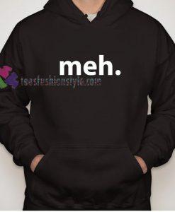 Think Geek Meh Hoodie gift