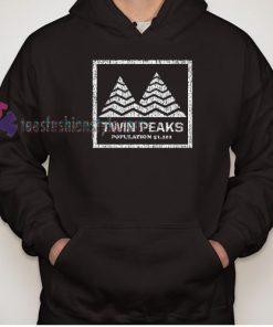 Twin Peaks scary horror Movie Hoodie gift