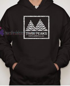 Twin Peaks scary horror Movie Hoodie gift