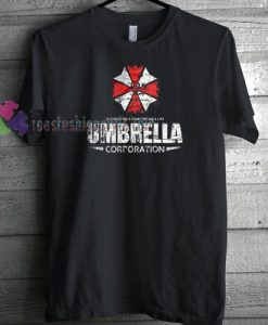 Umbrella Corporation Resident Evil T-shirt gift